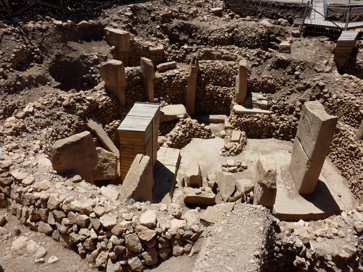 The ruins at Gobekli Tepe are the size of a modern city.