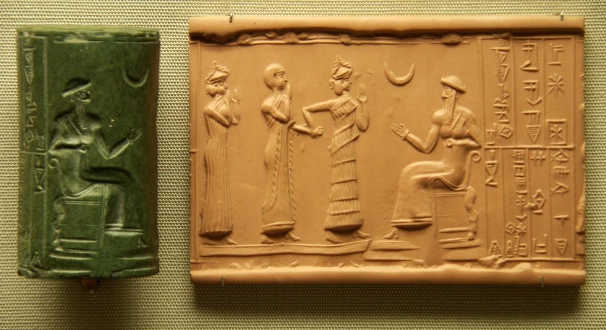 Sumerian Cylinder Seal