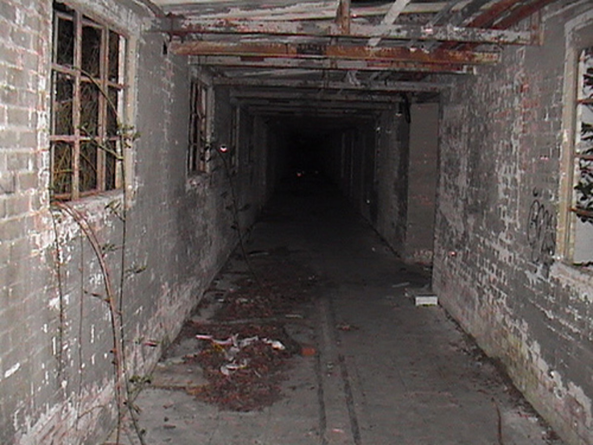 Canadian Red Cross Hospital Ghostly Corridor