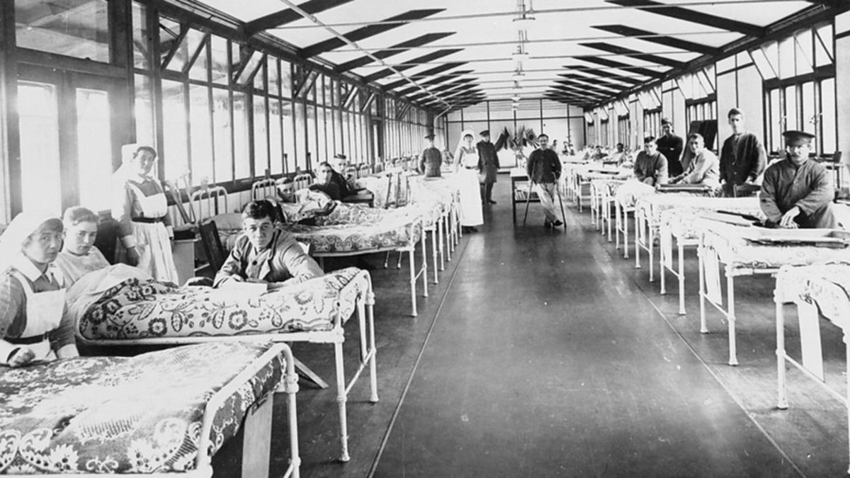 Cliveden Canadian Red Cross Hospital belonging to Lady Astor
