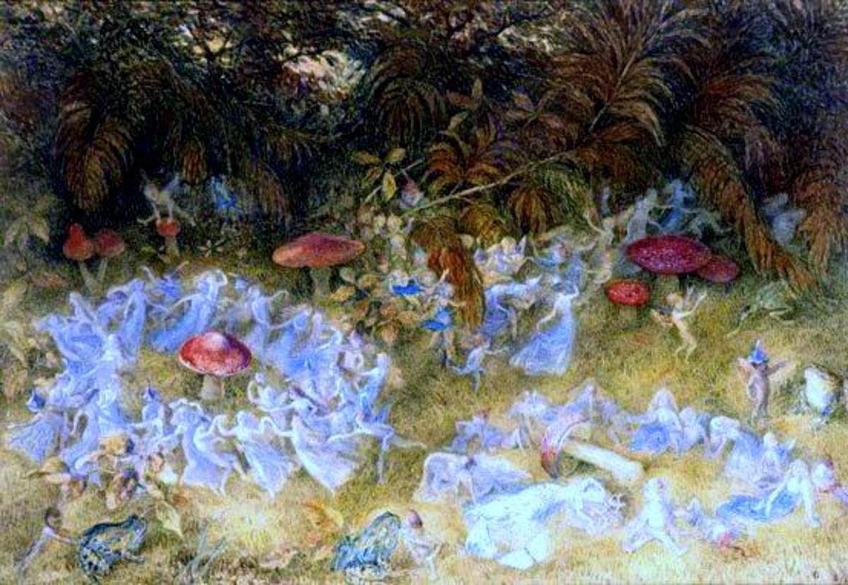 """Fairy Rings and Toadstools"" by Richard Doyle"