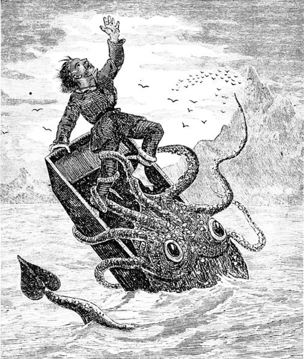 Ocean goers once feared strange sea monsters lurking the depths. Were they right to be wary?