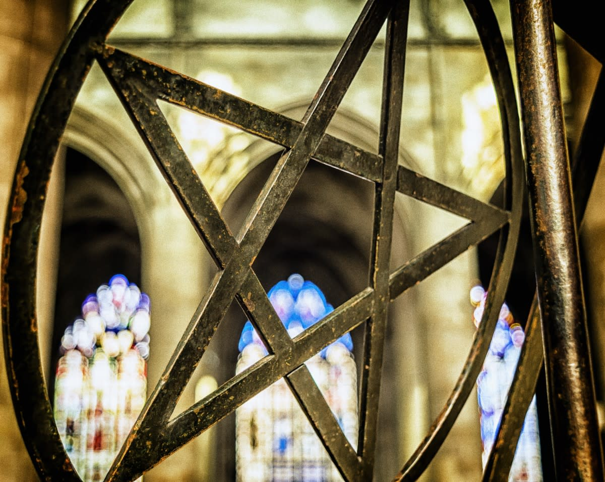 The pentacle is a symbol of the elements. It is ancient and sacred to many Witches and Pagans.