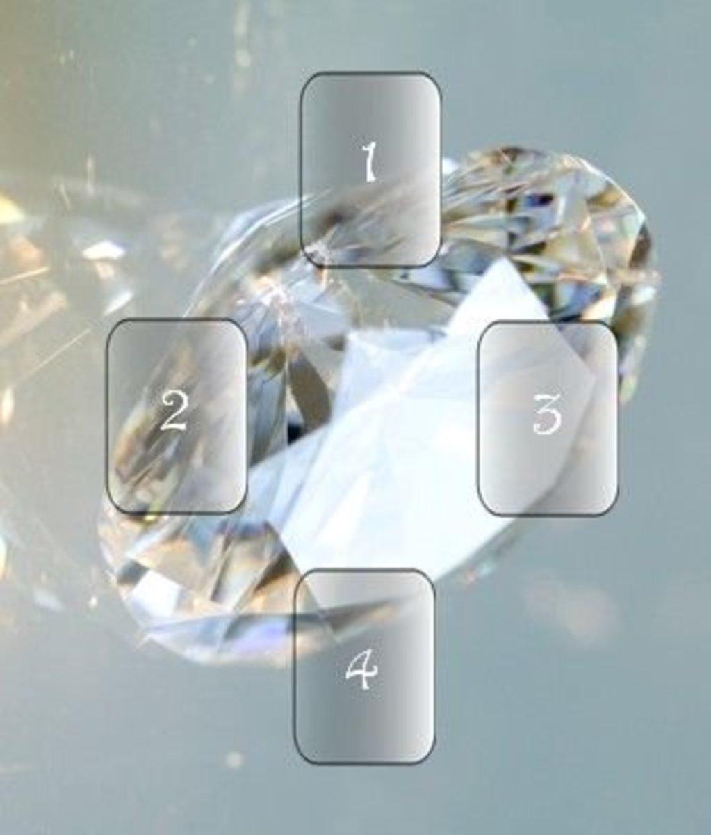 Diamond Clarity Tarot Card Spread