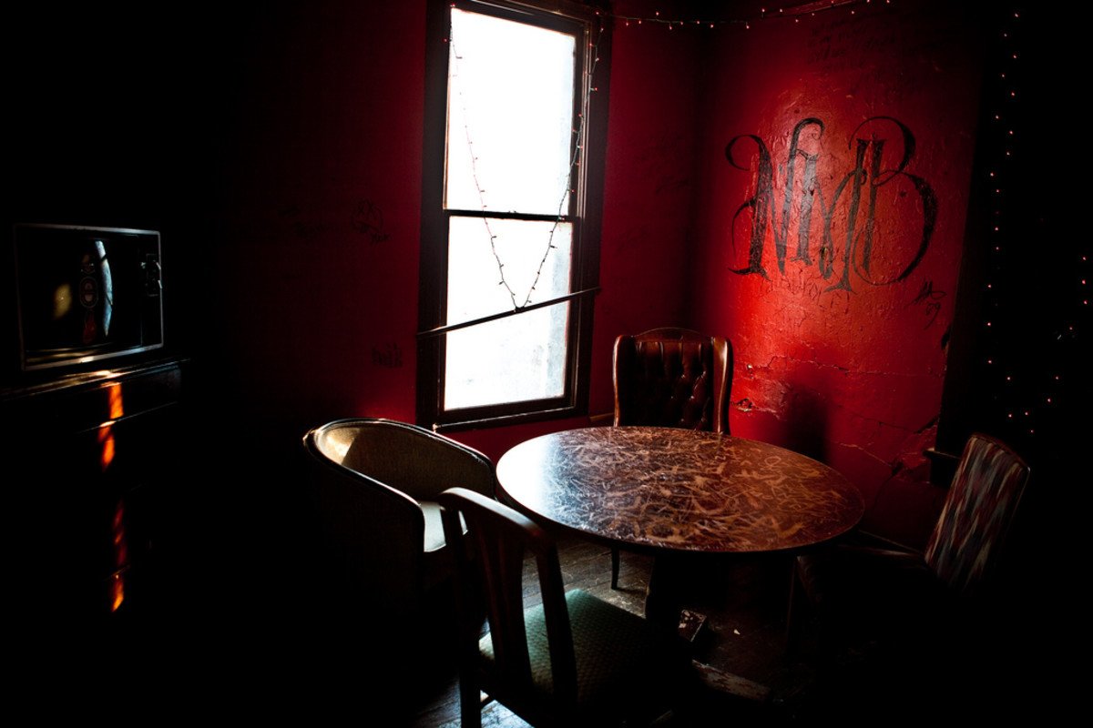 The Red Room at Earnestine & Hazel's, Memphis.