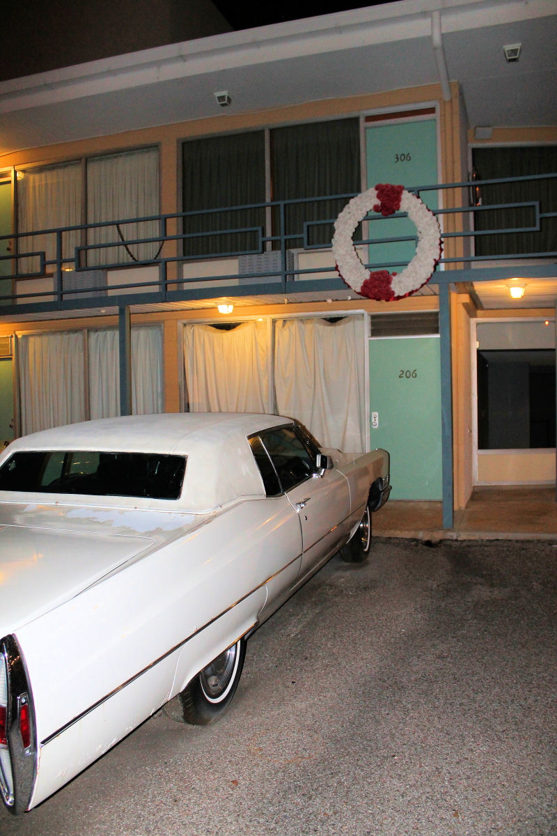 The Lorraine Motel, a site of Martin Luther King's assassination.