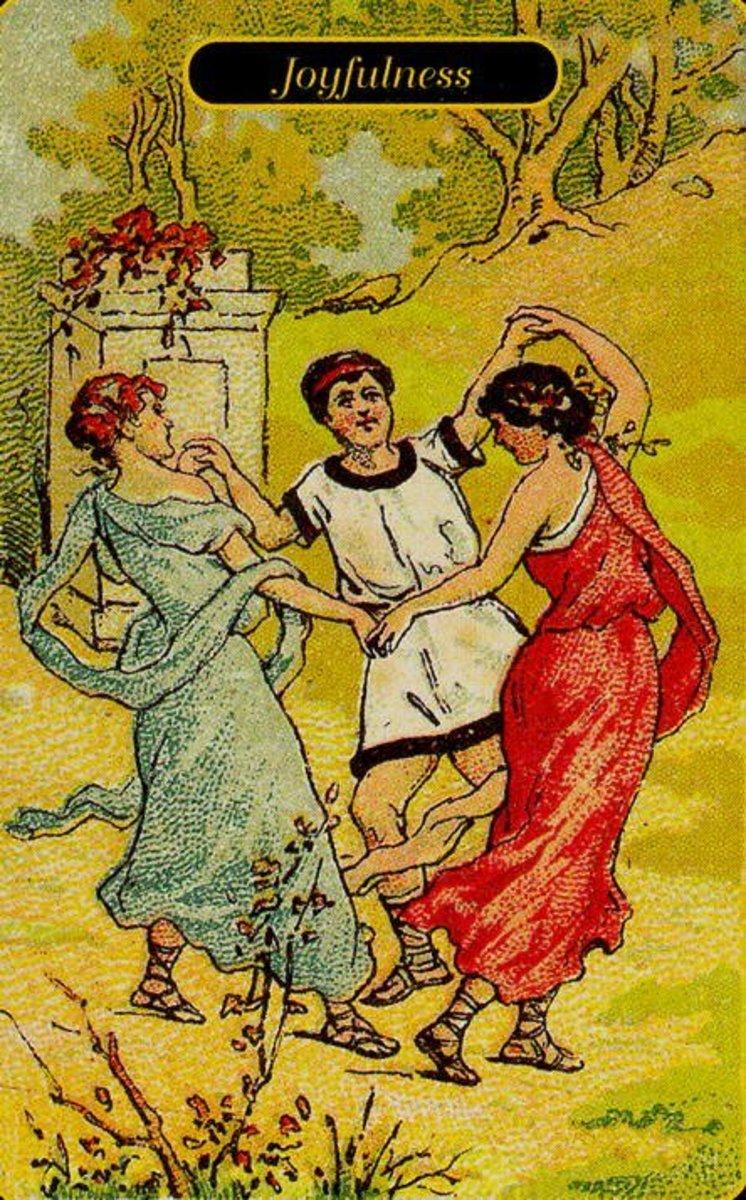 Joyfulness or Merriment Tarot Card