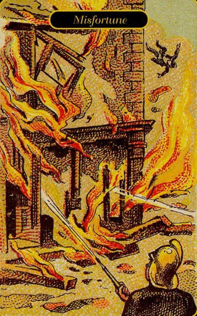 Misfortune Tarot Card