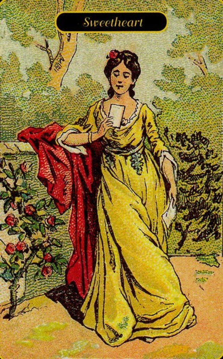 Sweetheart tarot card