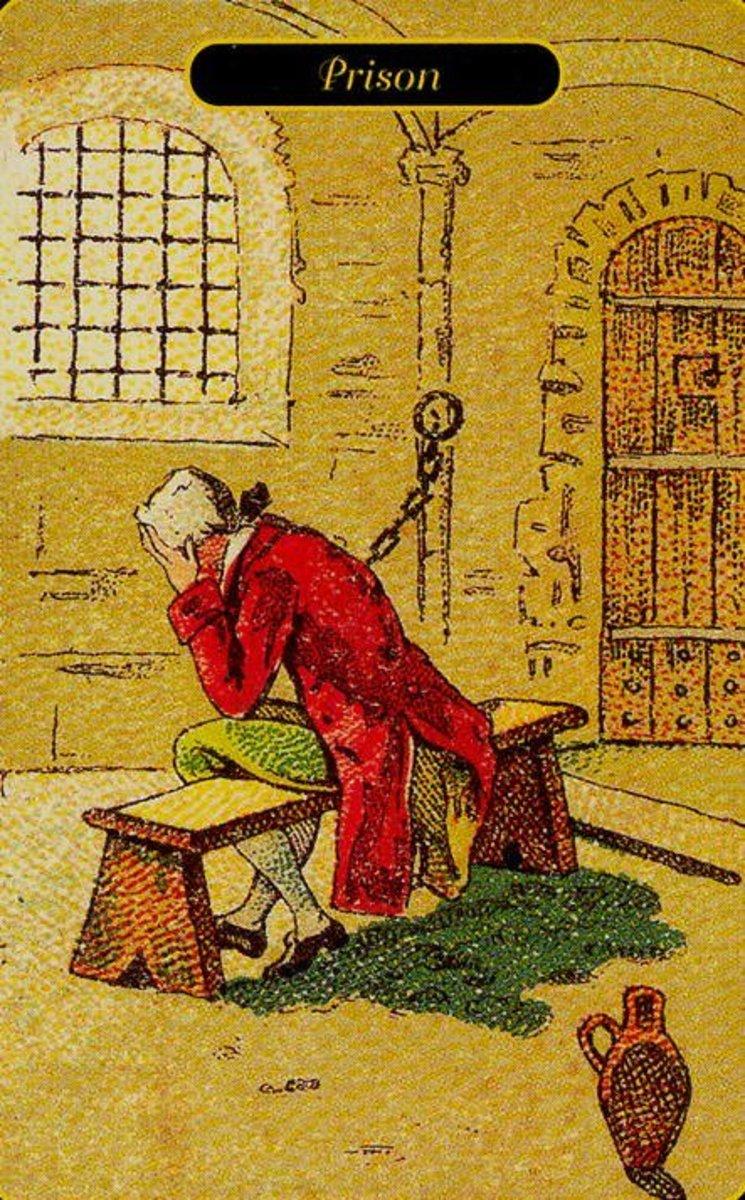 Prison tarot card