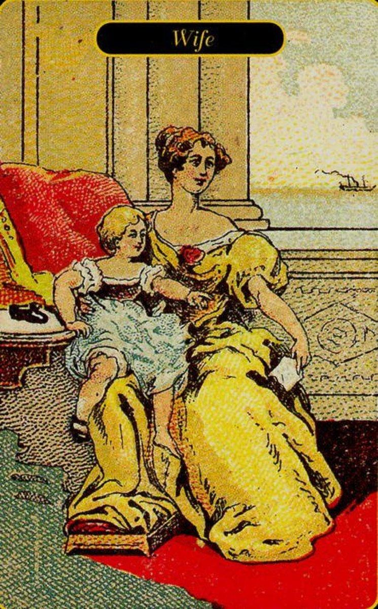 Wife tarot card
