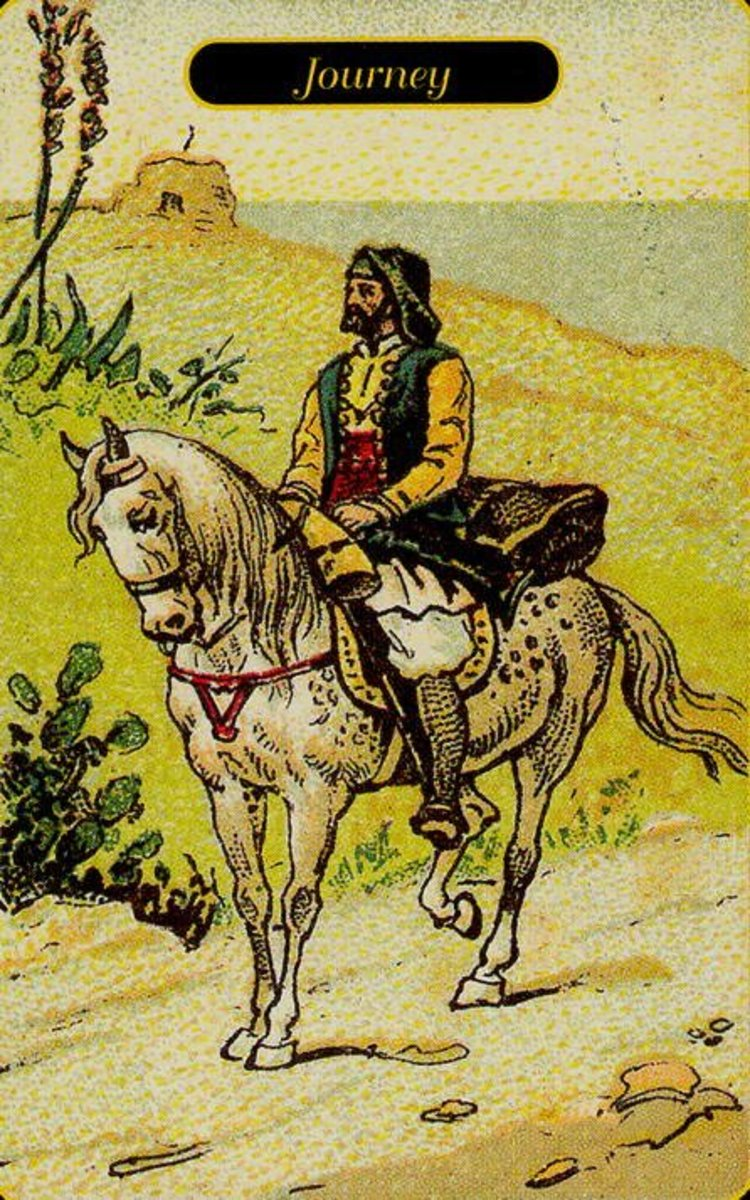 Journey Tarot Card