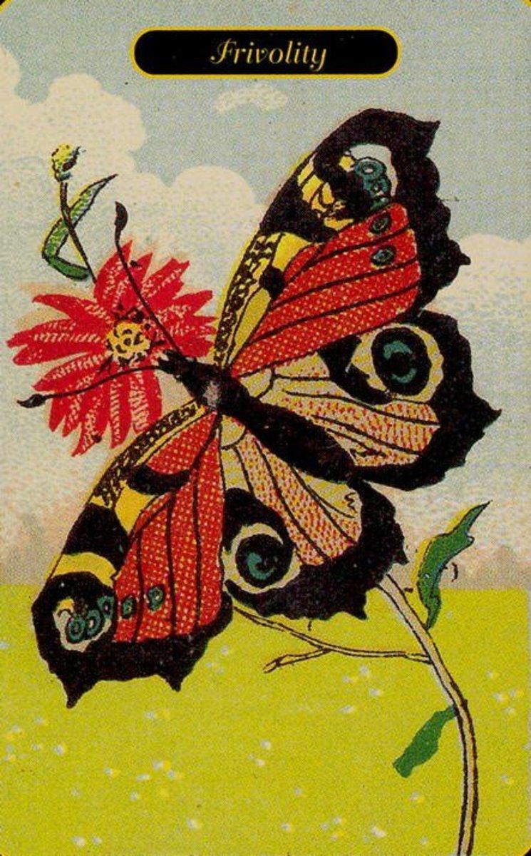 Frivolity or Inconstance Tarot Card