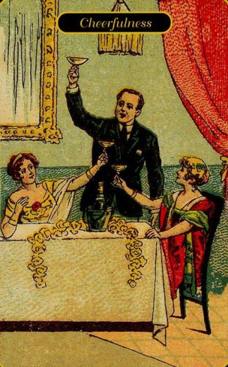 Cheerfulness Tarot Card