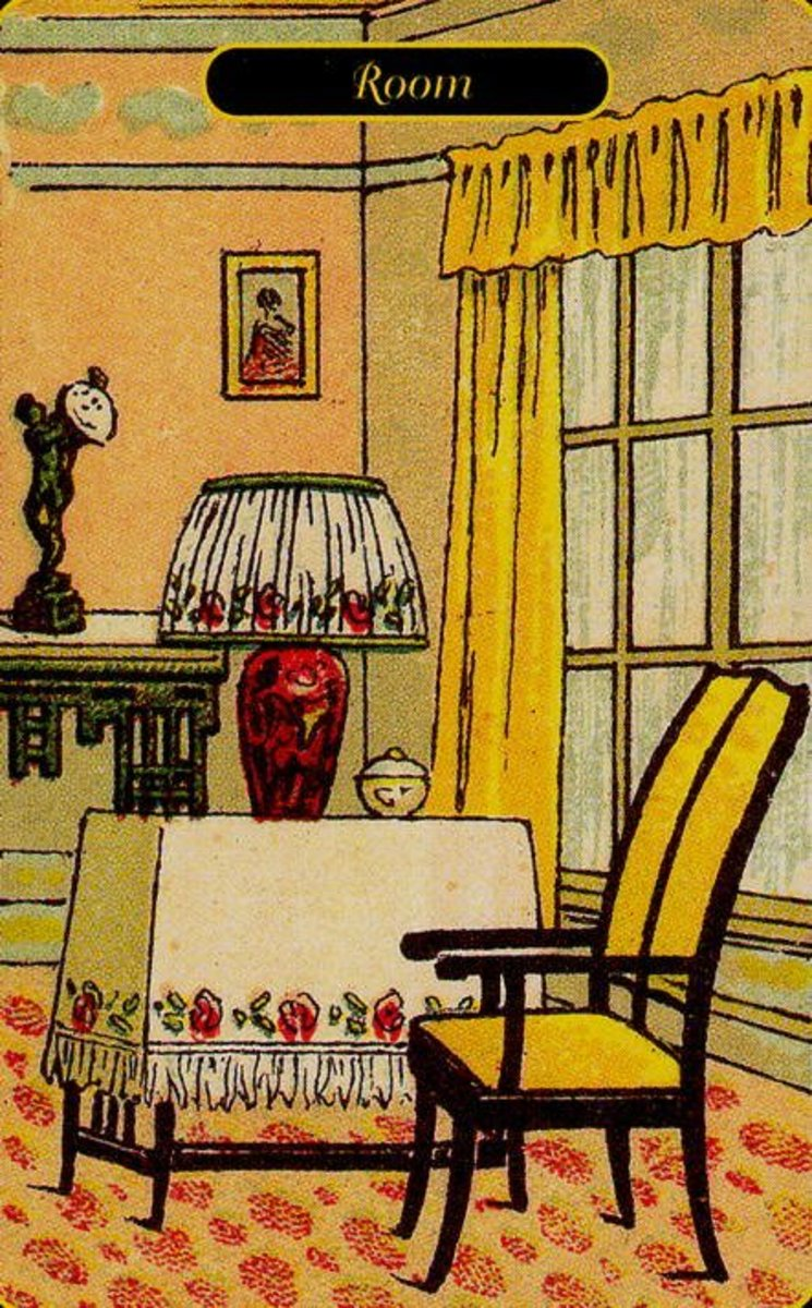 Room or Visit Tarot Card