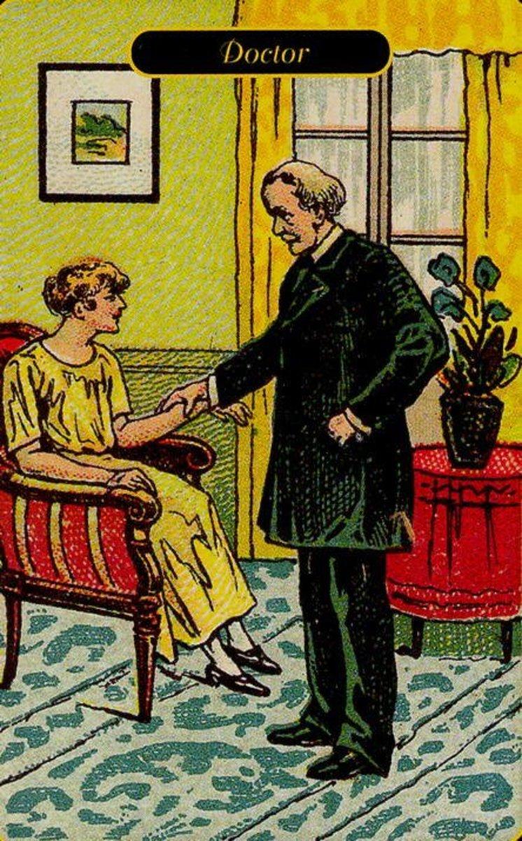 Doctor or Physician Tarot Card