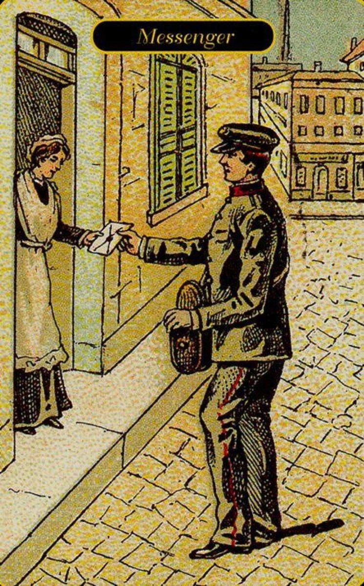 Messenger or Message Tarot Card