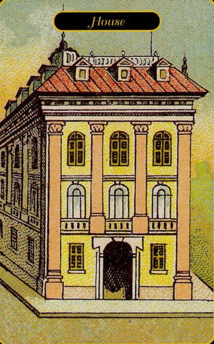 House Tarot Card