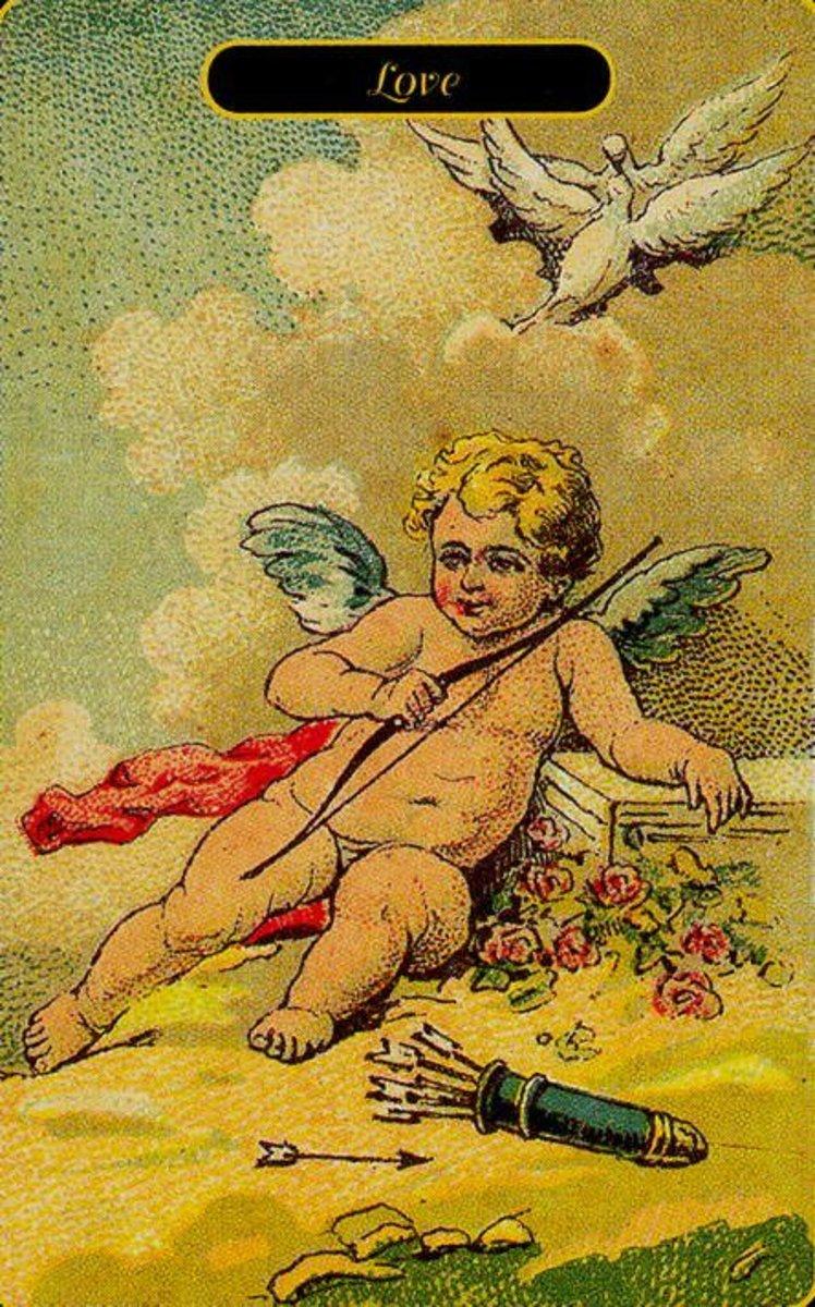 Love Tarot Card