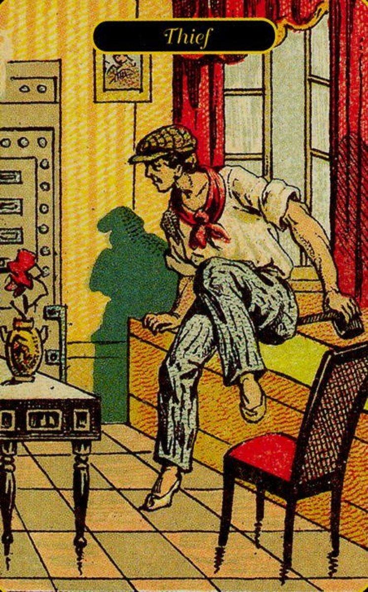 Thief Tarot Card