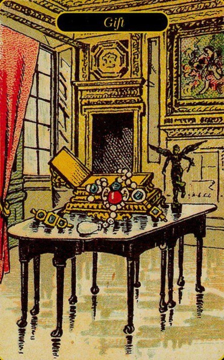 Gift tarot card