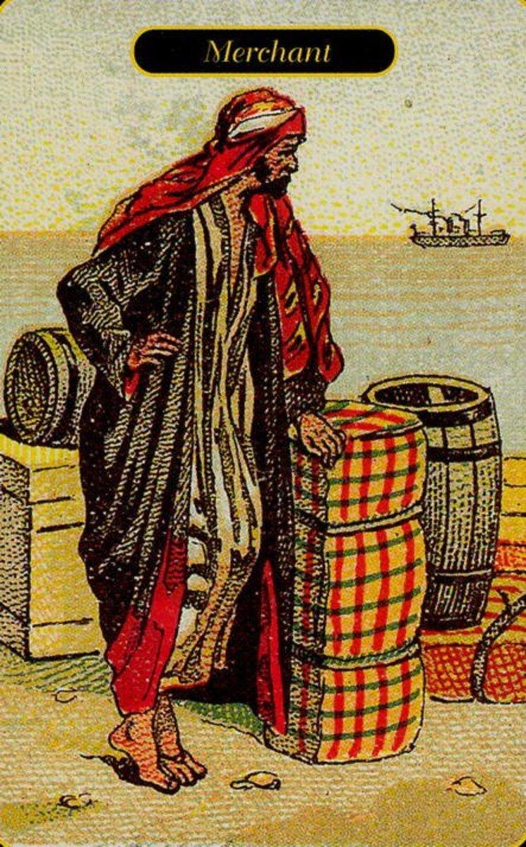 Merchant or Profit Tarot Card