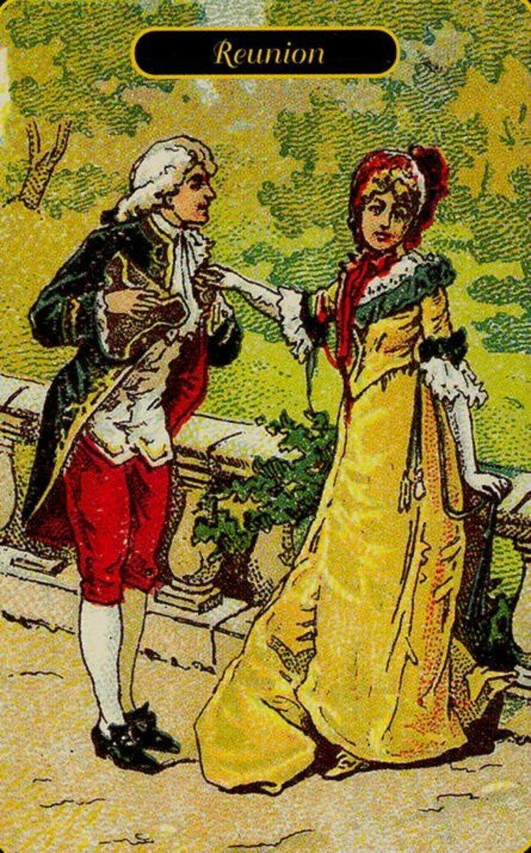Reunion or Fidelity tarot card