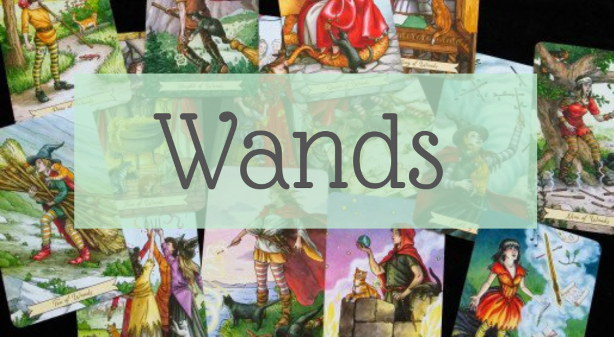 The Everyday Witch Tarot: Suit of Wands