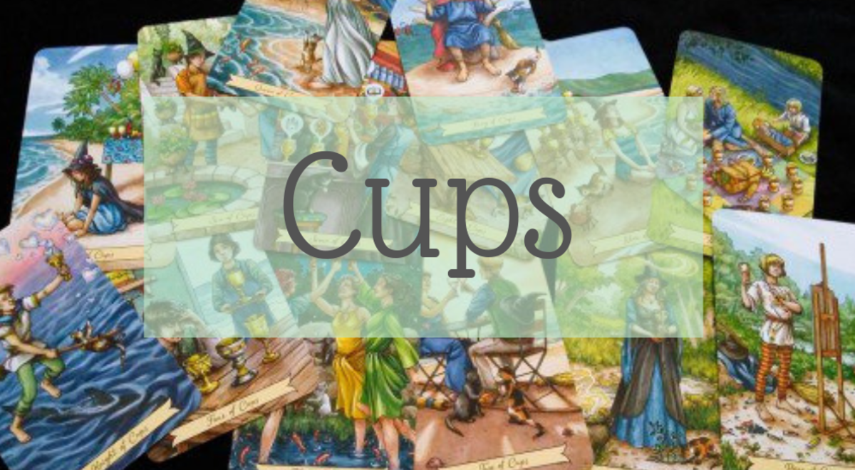 The Everyday Witch Tarot: Suit of Cups