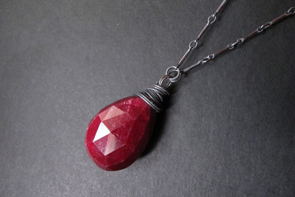 Rubies have long been asscoiated with Yule celebrations.