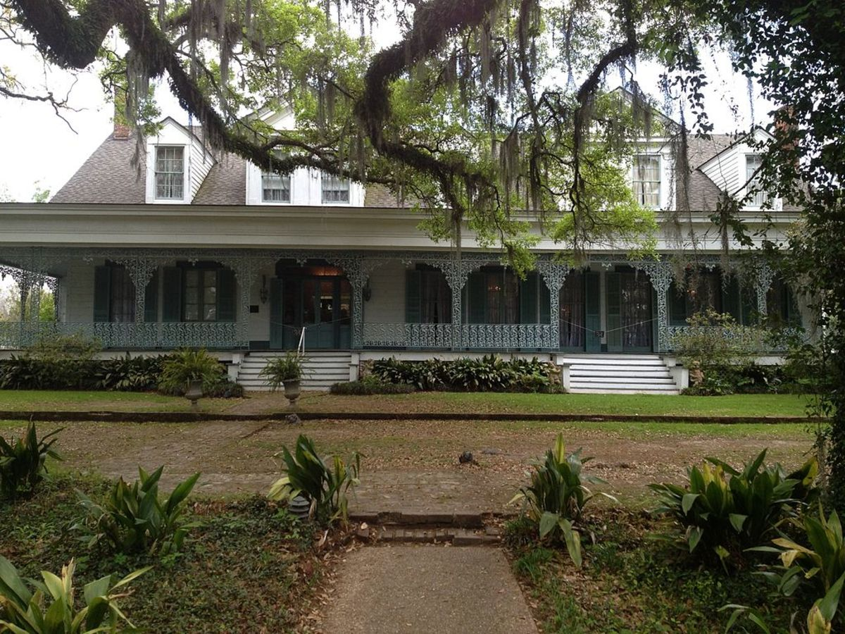 "Myrtles Plantation started as a family home in the 1700s but became ""America's most haunted house"" after its owner wrote a book about Myrtles."