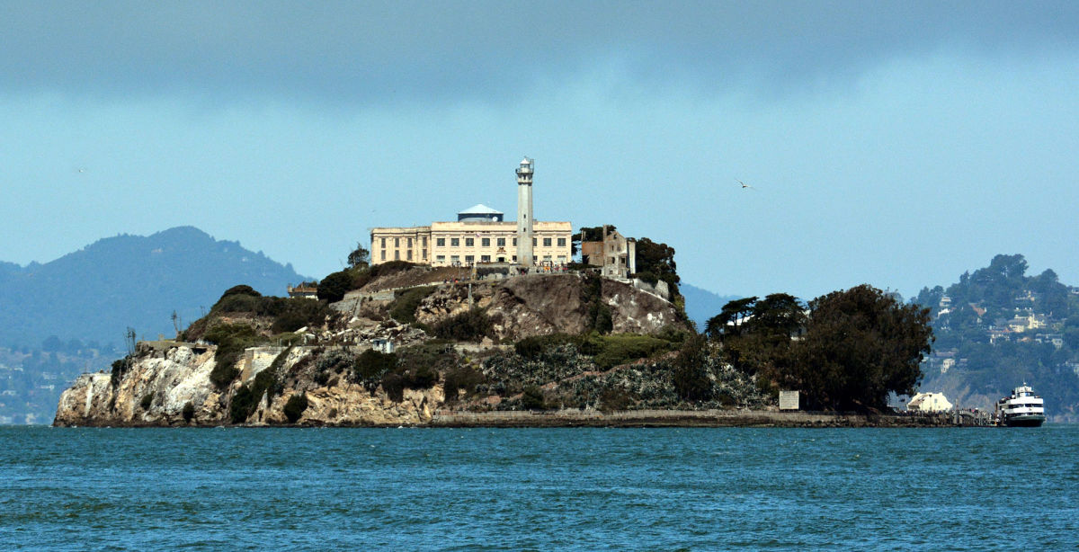 Alcatraz, America's toughest prison, is also one of the country's most haunted places.