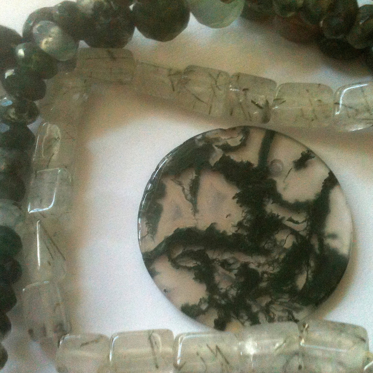 Moss agate attracts abundance of all kinds.