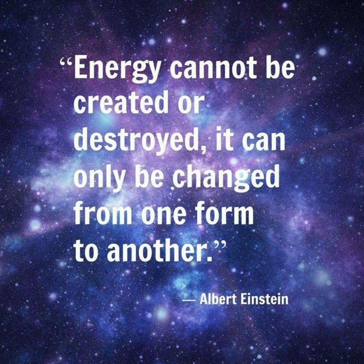 Wisdom from Albert Einstein.