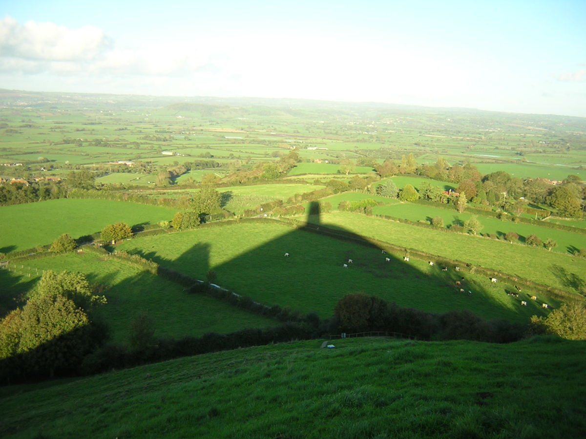 Glastonbury Tor shadow