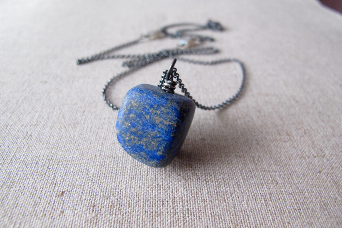 Lapis lazuli helps when repressed anger needs to be released.