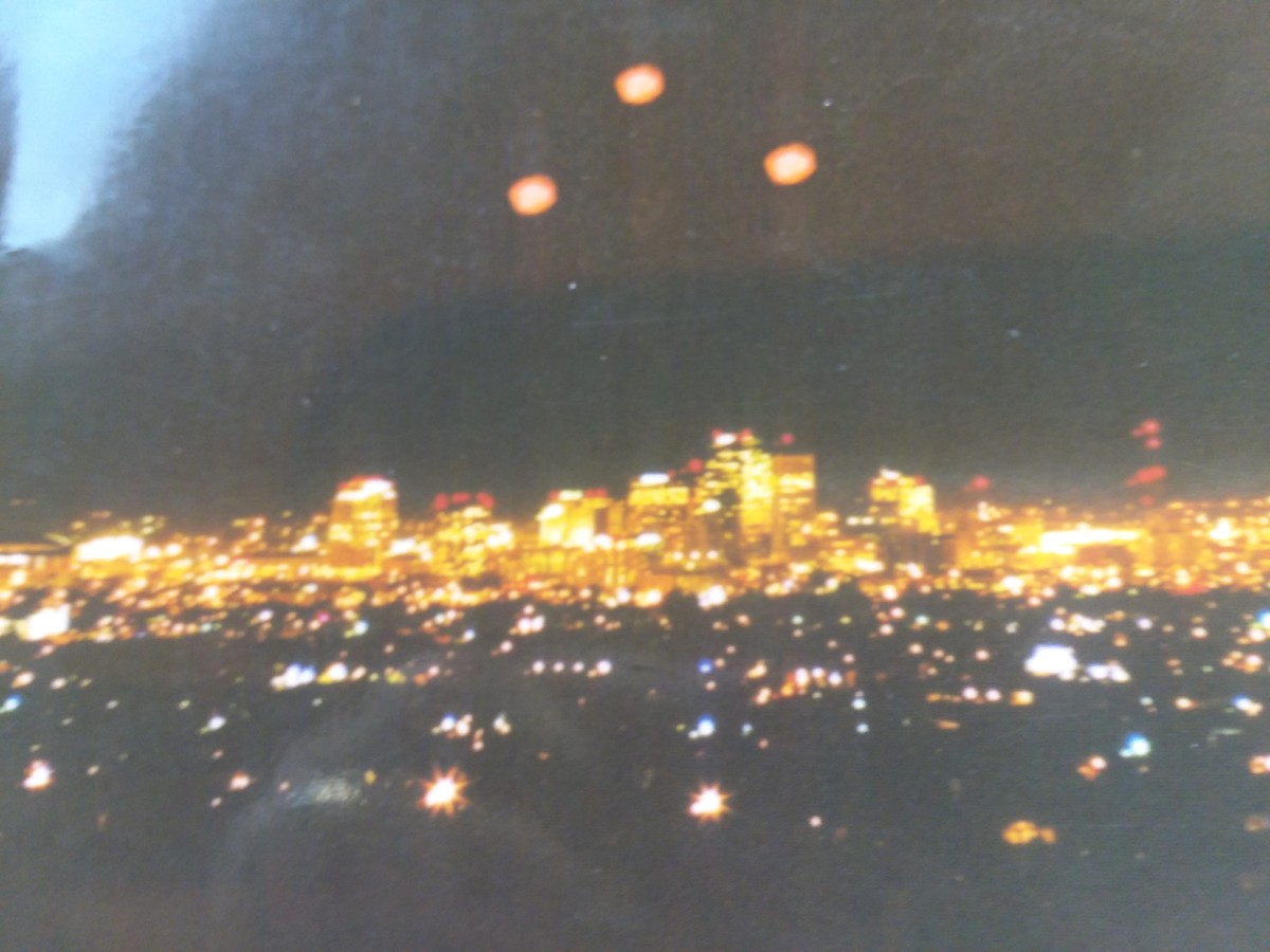 This photo was taken by Lynne from her home in the South Mountain area of Phoenix. The book contains her other photos.
