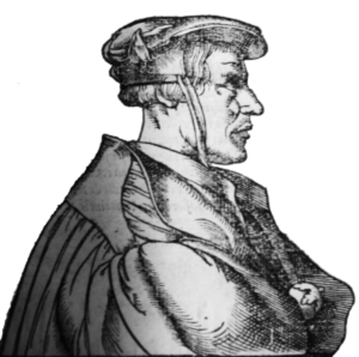 Heinrich Cornelius Agrippa von Nettesheim (1486–1535) was a German physician and scholar.