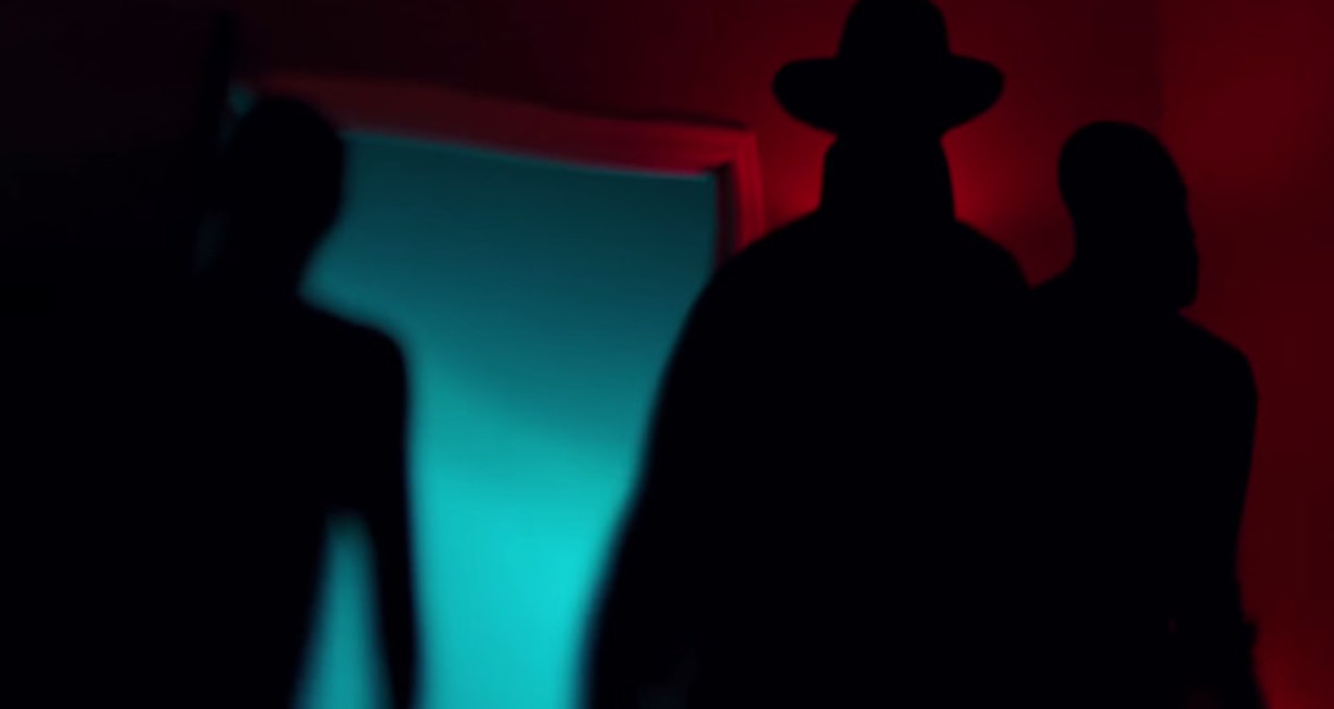 The notorious Hat Man as shown in the sleep paralysis documentary The Nightmare.