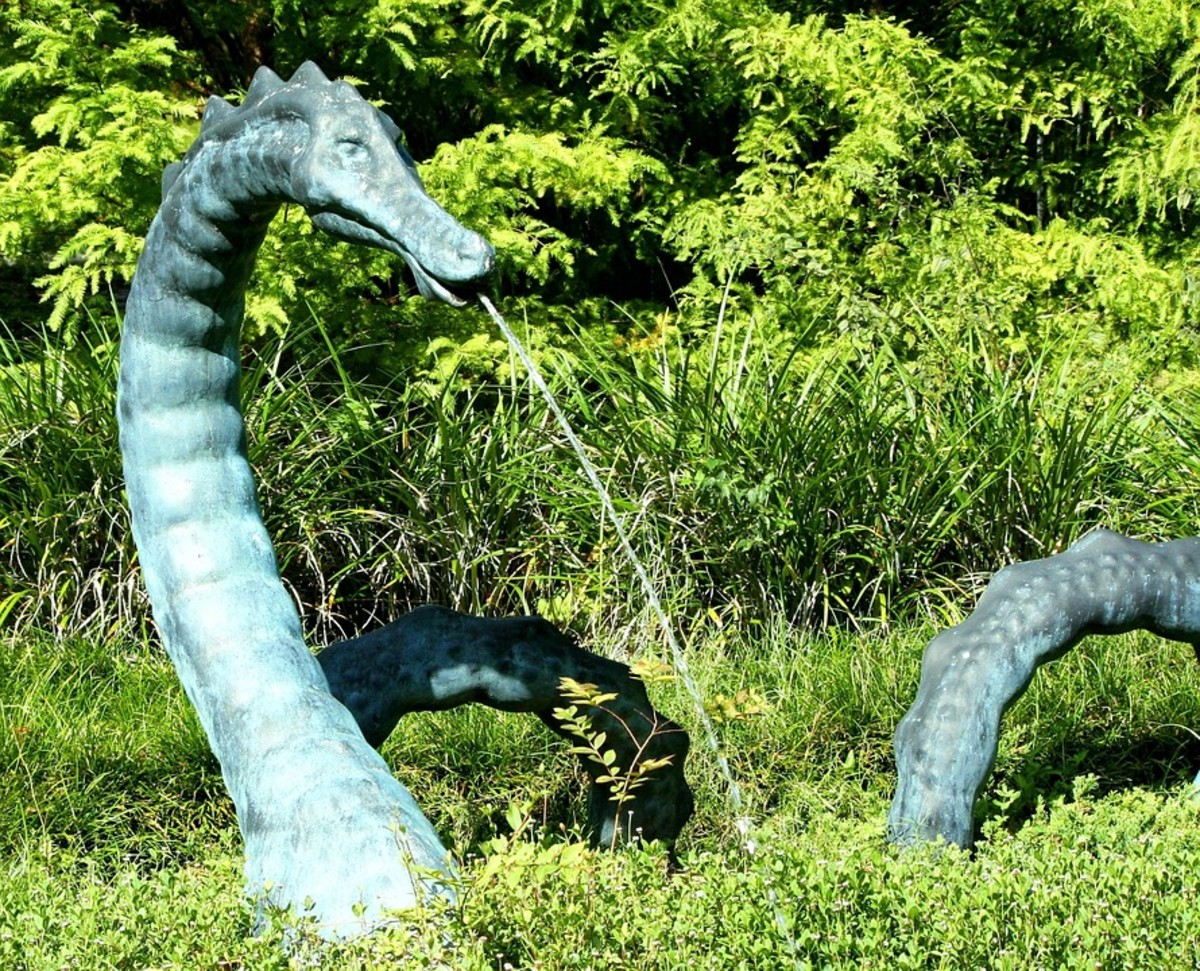 Is Bessie a water serpent living in the depths of Lake Erie?