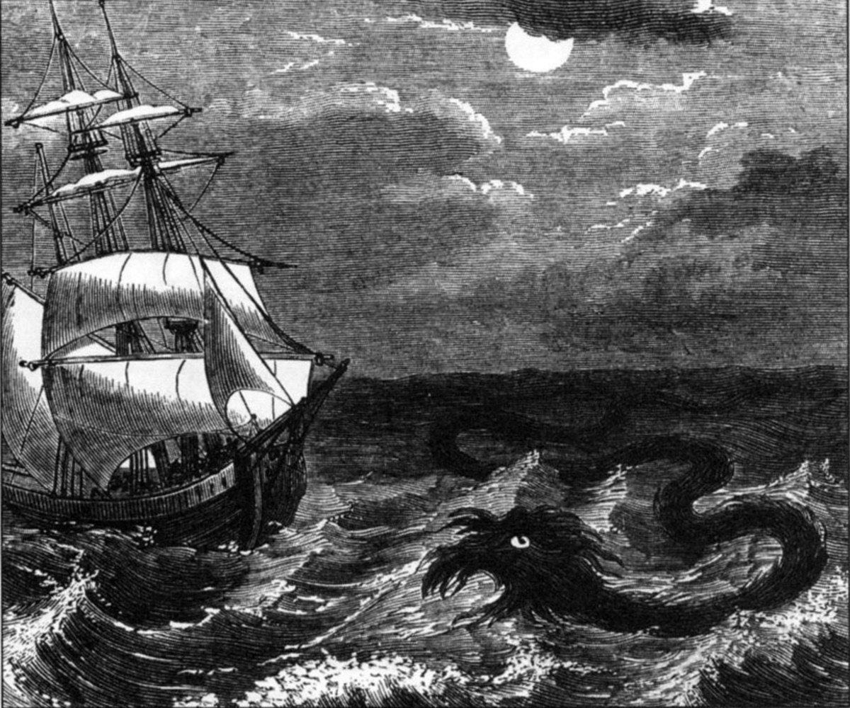 Could our lake monster Bessie be similar to sea serpents from sailors' legends?