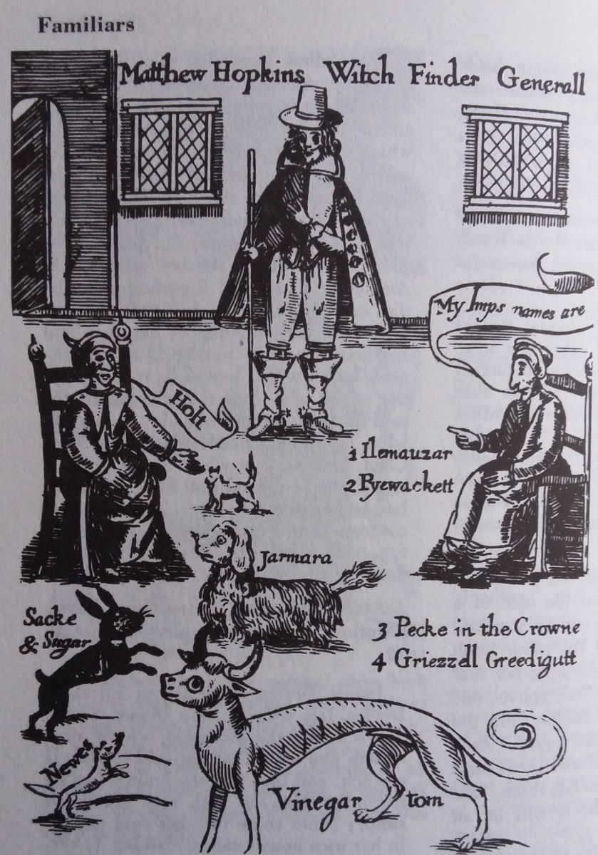 From 'The Discovery Of Witches', Matthew Hopkins (1647)