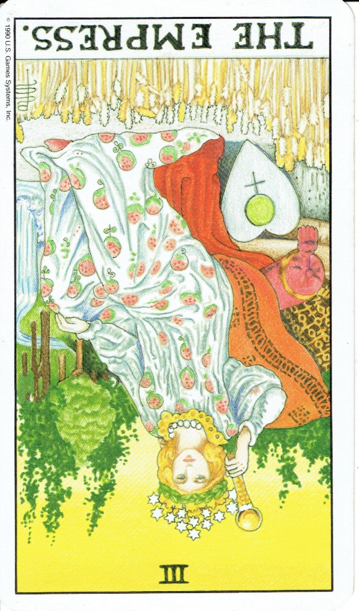 Reversed Cards in Tarot: Reference Guide to the Rider-Waite