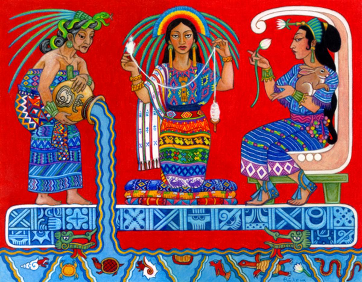 IxChel as the Triple Goddess