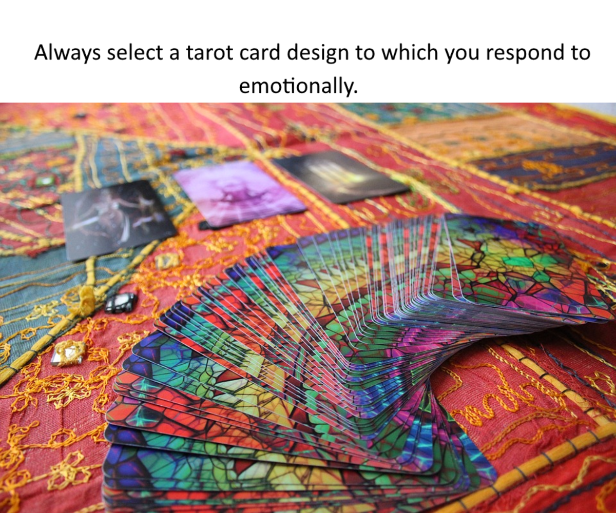 Tarot cards work through subconscious projection.
