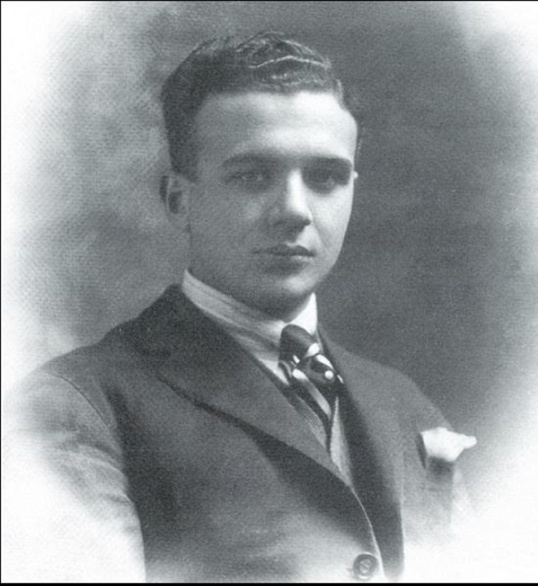 Gustavo Adolfo Rol ca. 1923