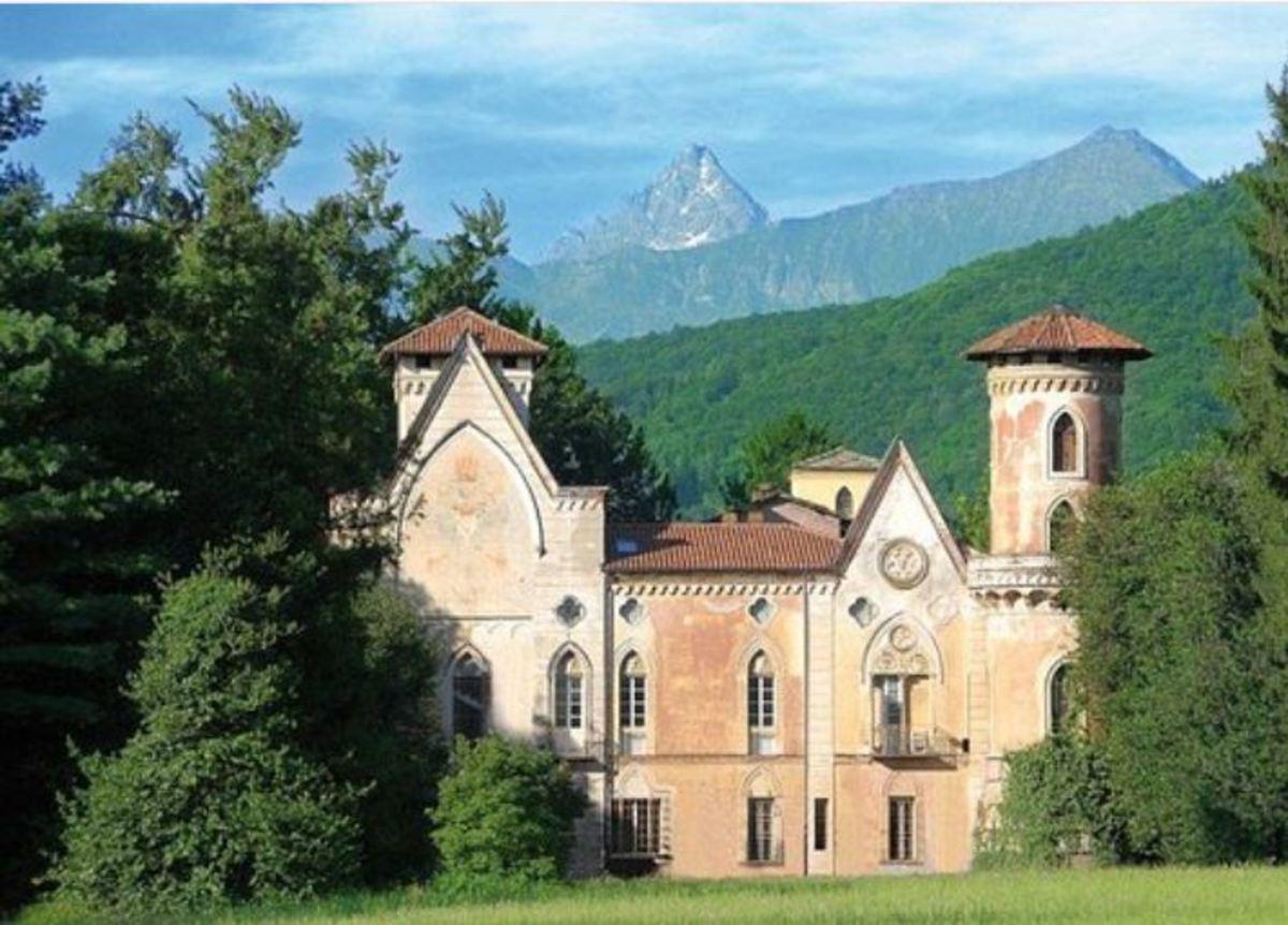 The Miradoro Castle, near San Secondo di Pinerolo