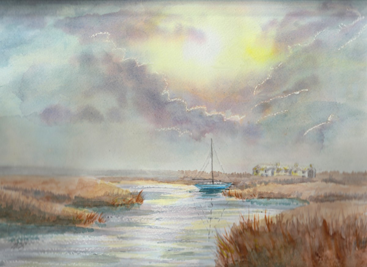 """""""Journey Awaits"""", by Adele Cosgrove-Bray. Light has played a symbolic role in art and philosophy alike for millennia."""