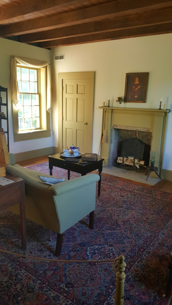A look inside the parlor.