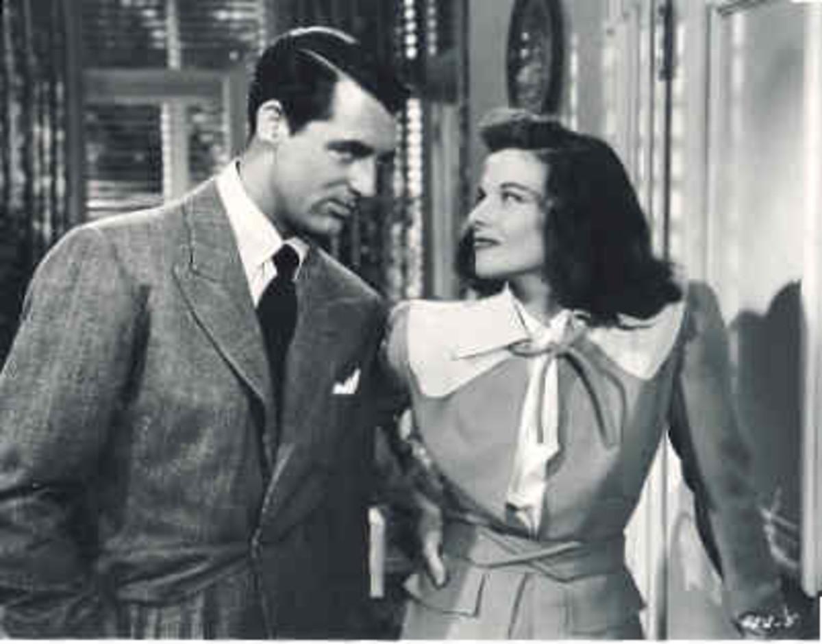 Cary Grant and Katherine Hepburn in The Philadelphia Story (1940)